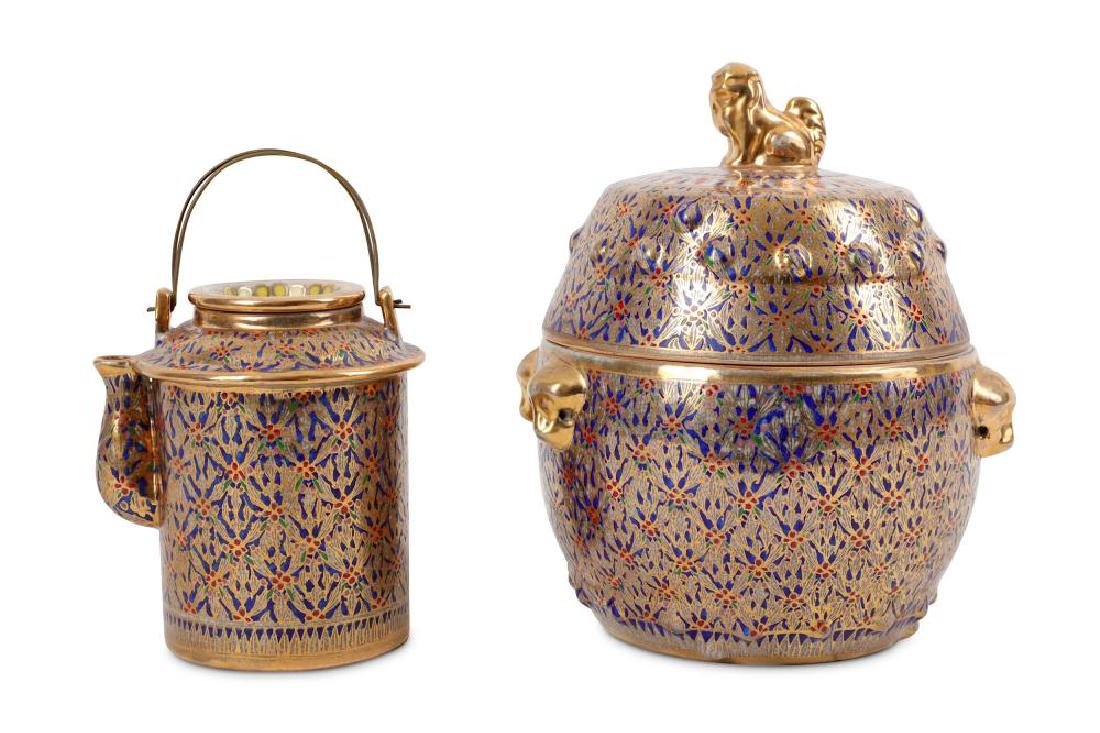 Two late 19th to early 20th century Chinese Thai