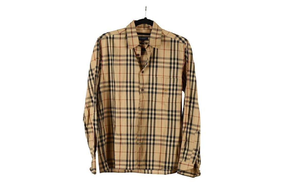 Burberry Cotton Nova Check Shirt, long sleeves, la