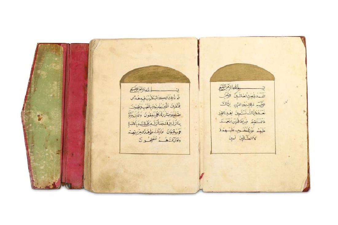 A PROVINCIAL QUR'AN North Africa, 19th - 20th century - 2