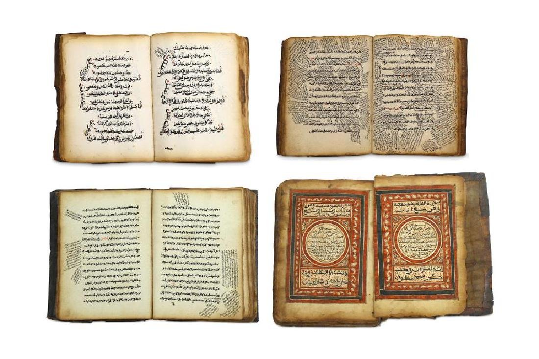FOUR ETHIOPIAN AND NORTH AFRICAN MANUSCRIPTS ON