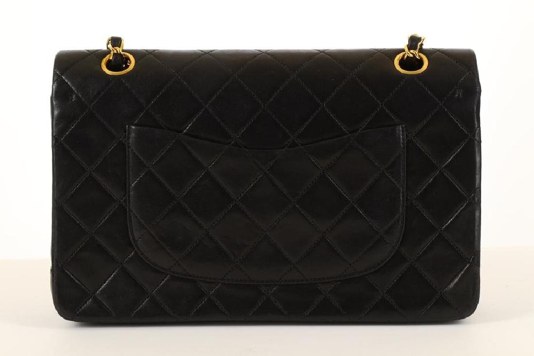 Chanel Black Classic 2.55 Double Flap Bag, c. 1986-88, - 4