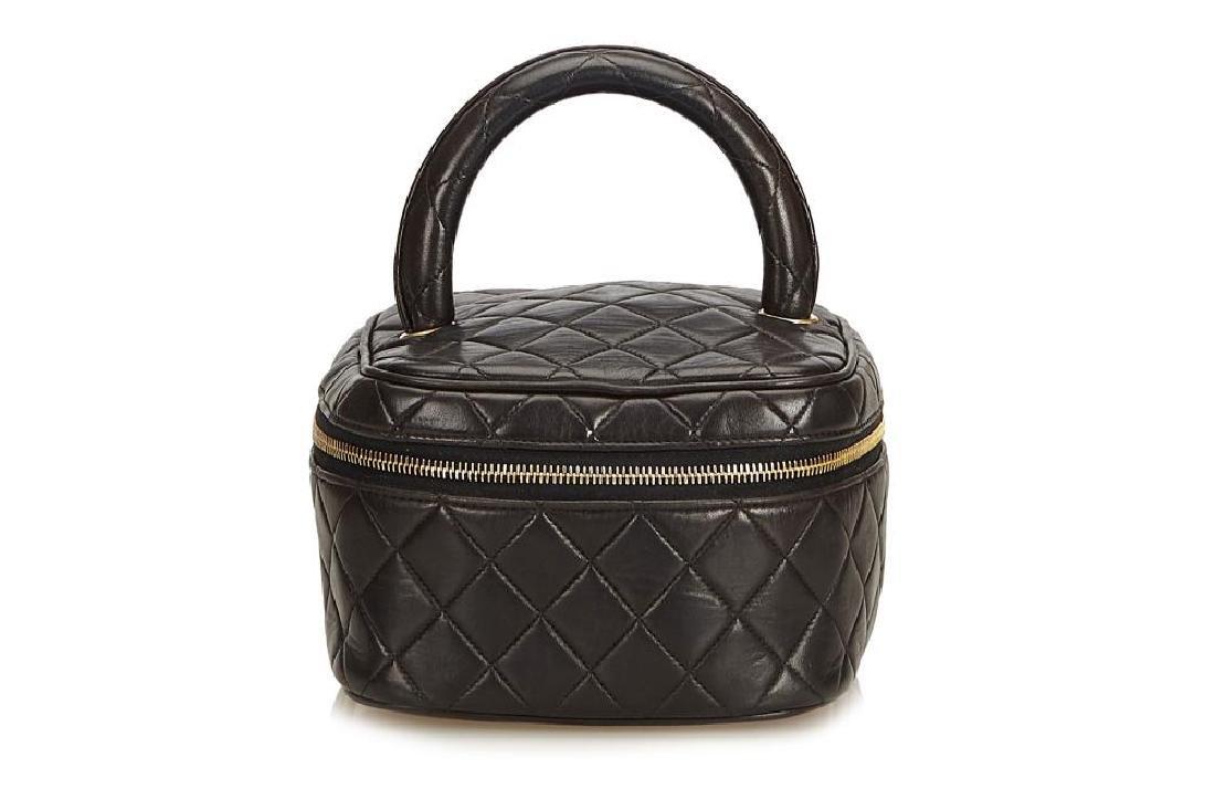 Chanel Vintage Vanity Case Bag, c. 1994-96, quilted