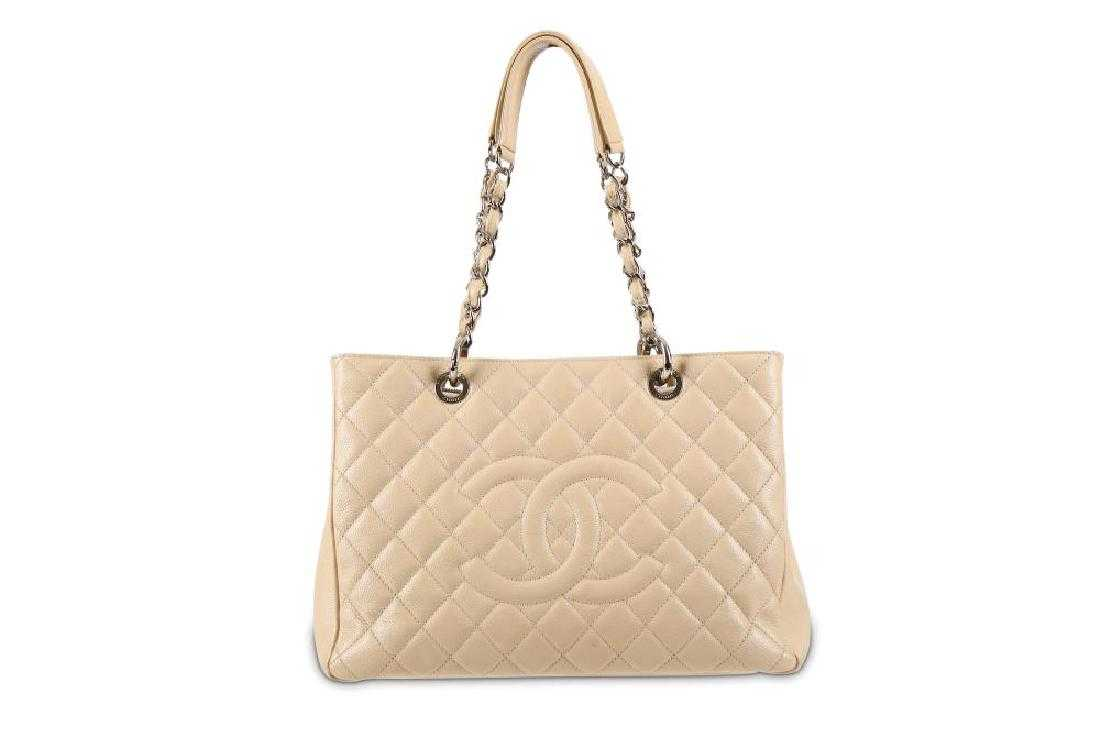 c8220a810bad Chanel Beige Grand Shopping Tote (GST), c. 2010-11,