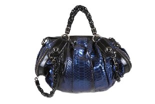 1a5730b0a ... Gucci Blue Python Galaxy Bag, iridescent blue tone