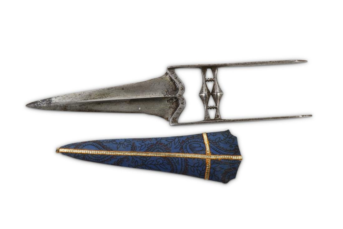 18TH OR 19TH CENTURY INDIAN KATAR PUNCH DAGGER