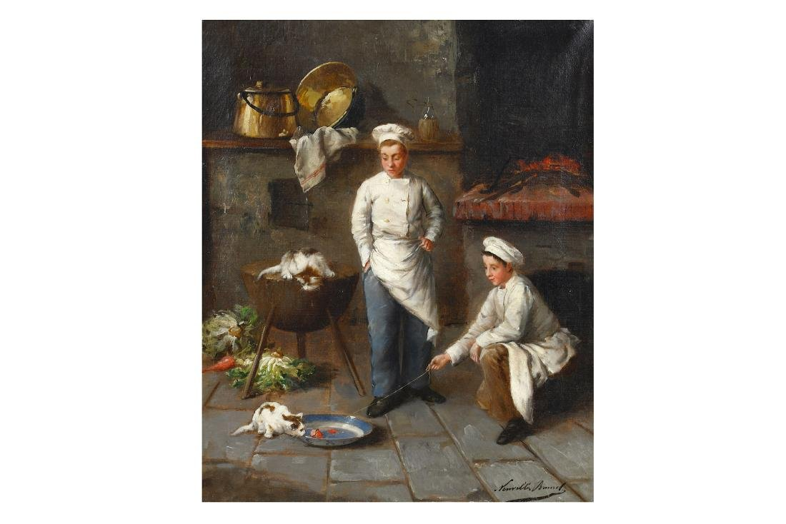ALFRED ARTHUR BRUNEL DE NEUVILLE (FRENCH 1852-1941)