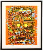 Phil Frost (American b.1973), 'Untitled (Orange)'