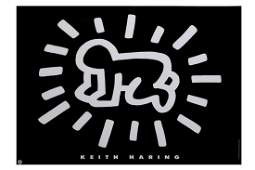 Keith Haring American Radiant Baby