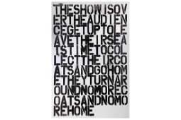 Christopher Wool/ Felix Gonzalez-Torres, 'Untitled (The