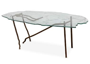 DANNY LANE: A rare Romeo and Juliet Table, one from an