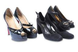 Three Pairs of Designer Heels