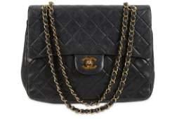 Chanel Black Double Flap Bag