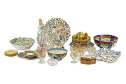 A good mixed ceramic and glass lot