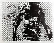 Paul Insect (British b.1971), 'Burning Man'