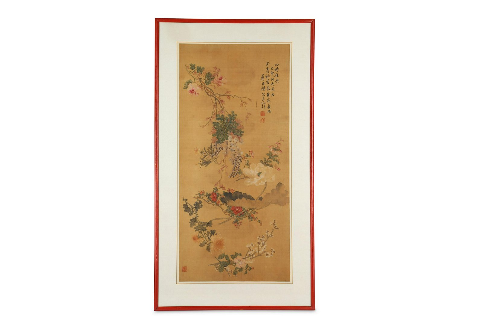 A CHINESE 'FLOWER SPRAYS' PAINTING.