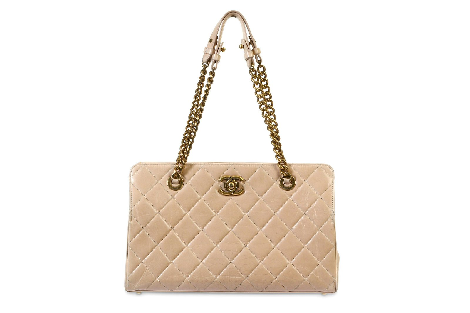 Chanel Pale Pink Shopping Tote