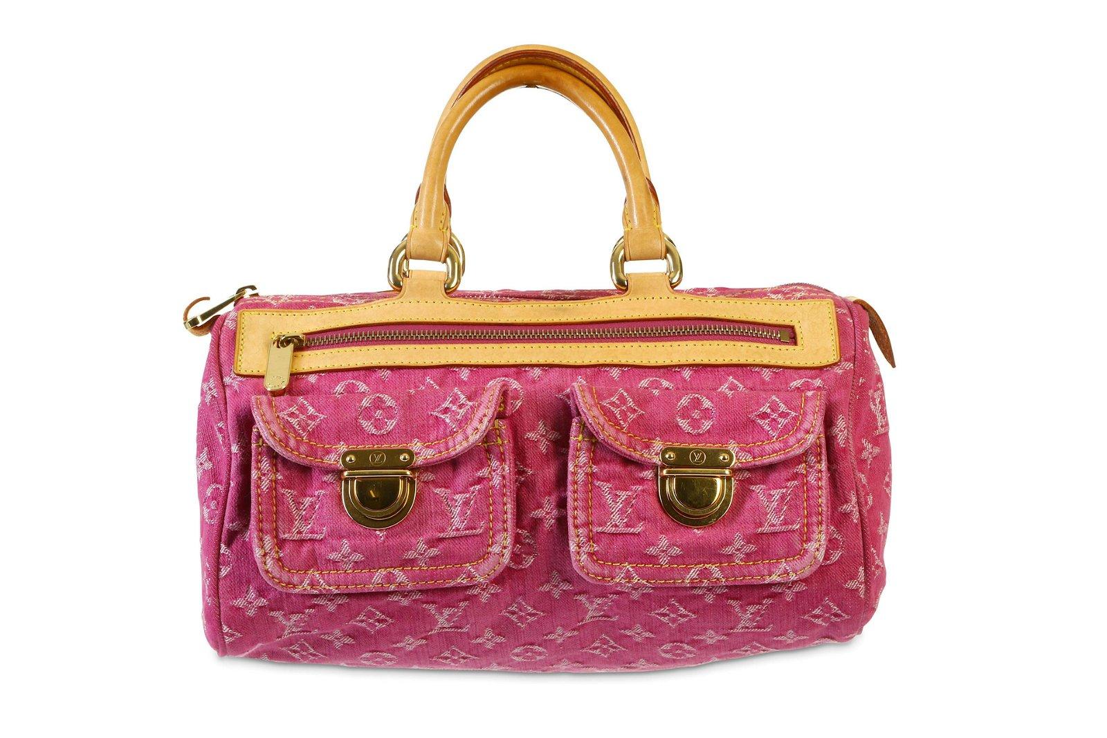 Louis Vuitton Pink Neo Speedy