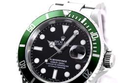 ROLEX. AN ATTRACTIVE AND COLLECTIBLE MEN'S STAINLESS