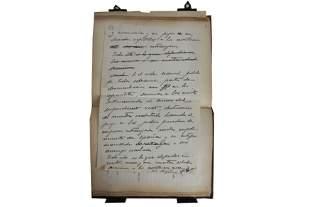 Autograph Album.- Spanish Interest incl. General Franco