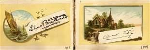Autograph Albums.- Actors & Entertainers