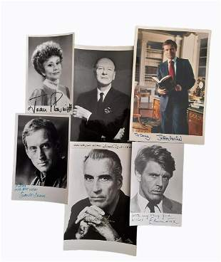 Autograph Collection.- Actors, Tv Stars and