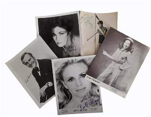 Photograph Collection.- Actors and Musicians