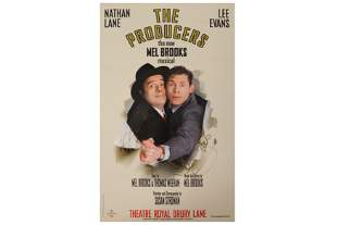 Signed Theatre Posters.-