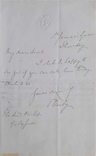 Derby (Edward Smith‑Stanley, Earl of)