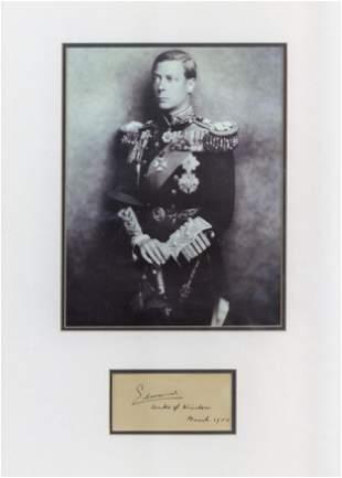 Edward, Duke of Windsor