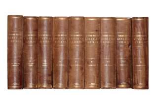 Bibliography Continental Art & Literature,-