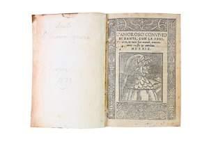 Dante (Alighieri): L'Amorosa Convivio di Dante. 1529
