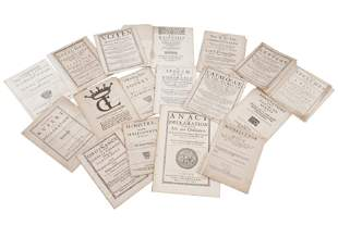 Collection of Cromwellian pamphlets.