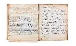 Cookery. Manuscript. [c.1850]