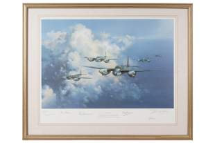 Aviation.- Wootton (Frank) Mosquito, 1990