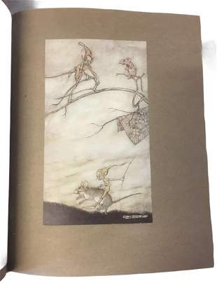 Rackham (Arthur) illustrator. Arthur Rackham's Book of