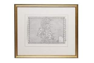 British Isles, early maps.-