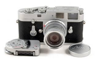 Leica M2 with 50mm Elmar & MC Meter.