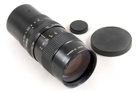 FAST Canon V6x17 17-102mm f2 C-mount Zoom TV Lens.