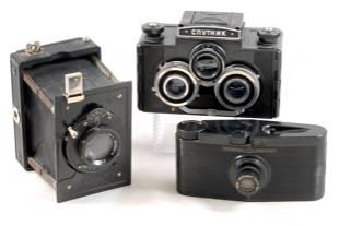 Sputnik Stereo & Other Bakelite & Plastic Cameras.