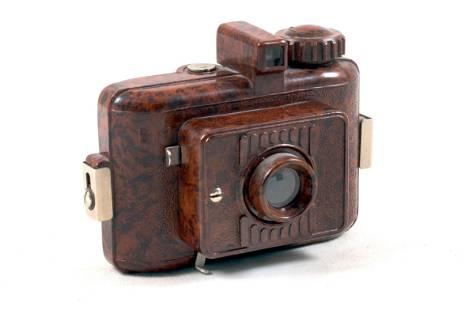 Rare GOMZ Malutka (Tiny) Speckled Brown Sub-Miniature