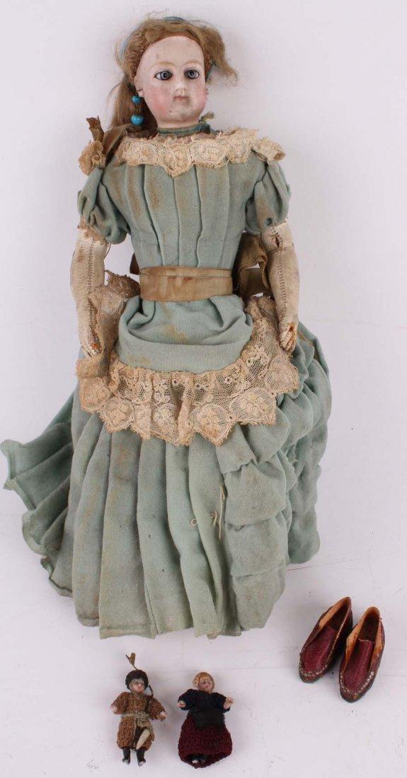 3: An all original French child Parisienne Fashion Doll