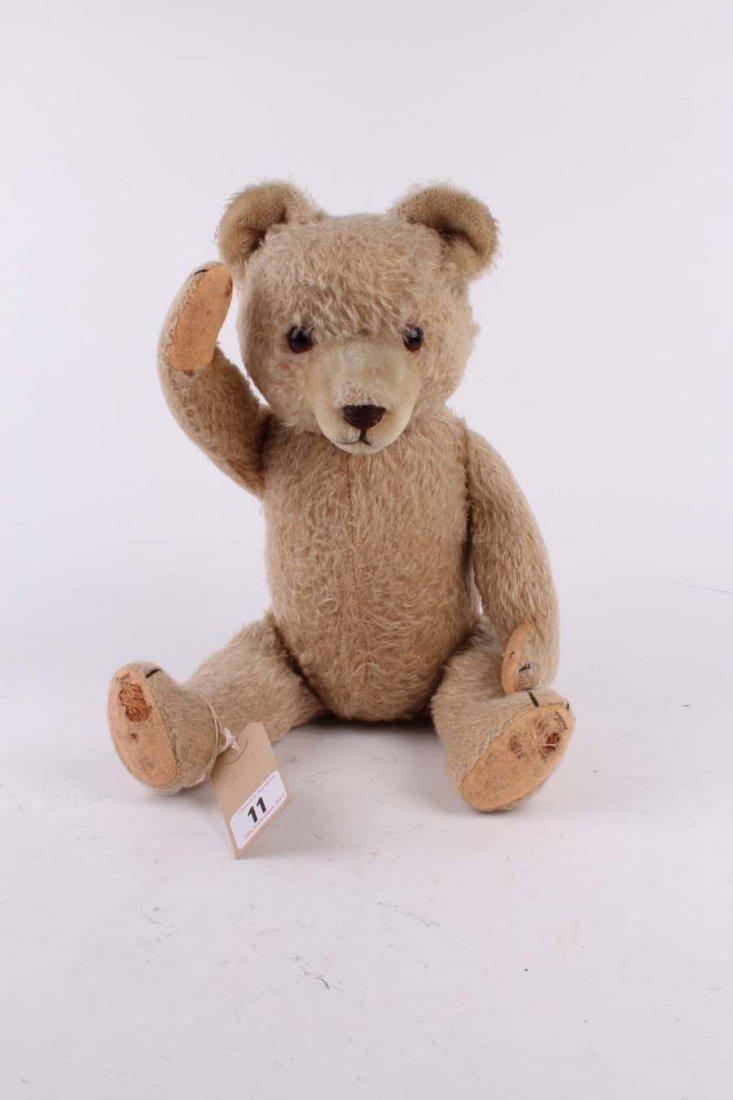 11: A mohair Teddy bear, German 1950s, with short haire