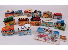 5: Thirteen mint in box Matchbox 1-75 series, including