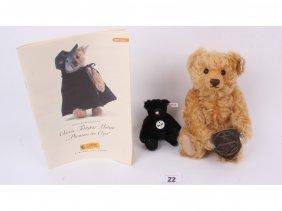 22: Two modern Steiff Teddy bears, one limited edition