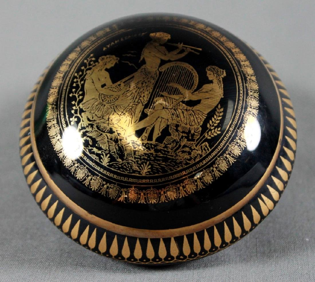 LIMOGES PORCELAIN 24K GOLD JEWELERY BOX