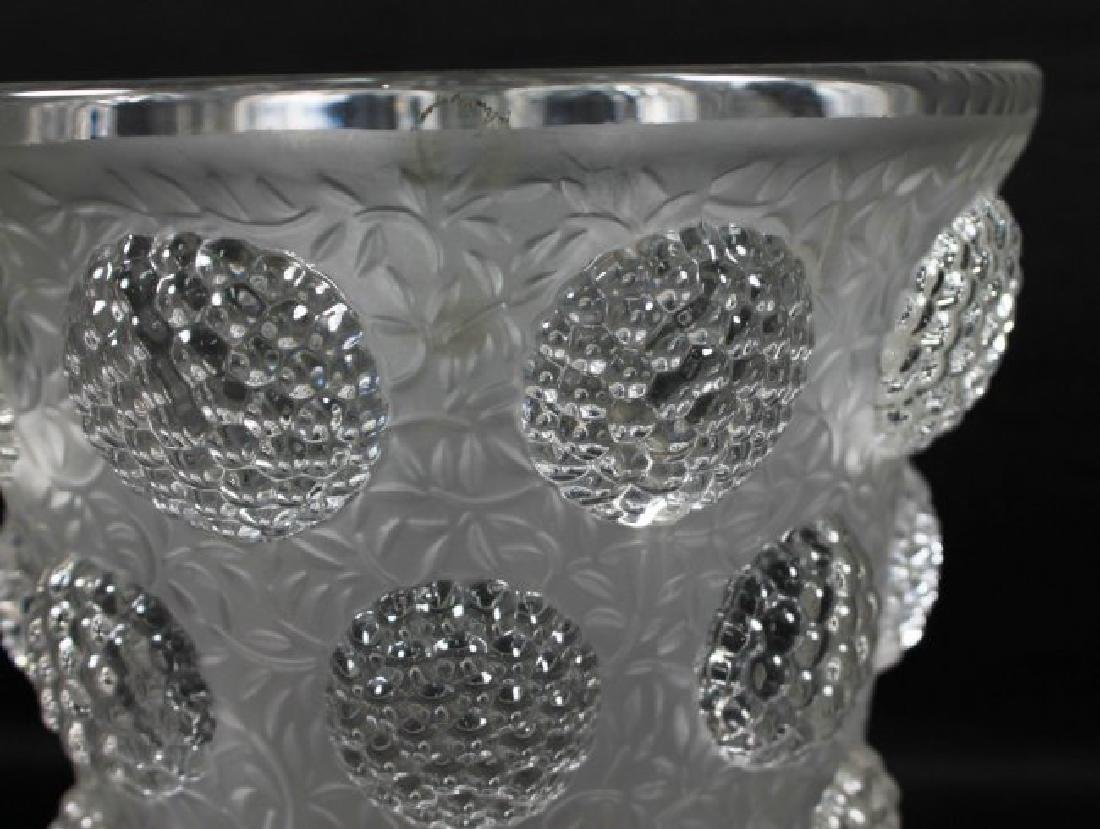 VERLYS FROSTED GLASS BUBBLE VASE - 2