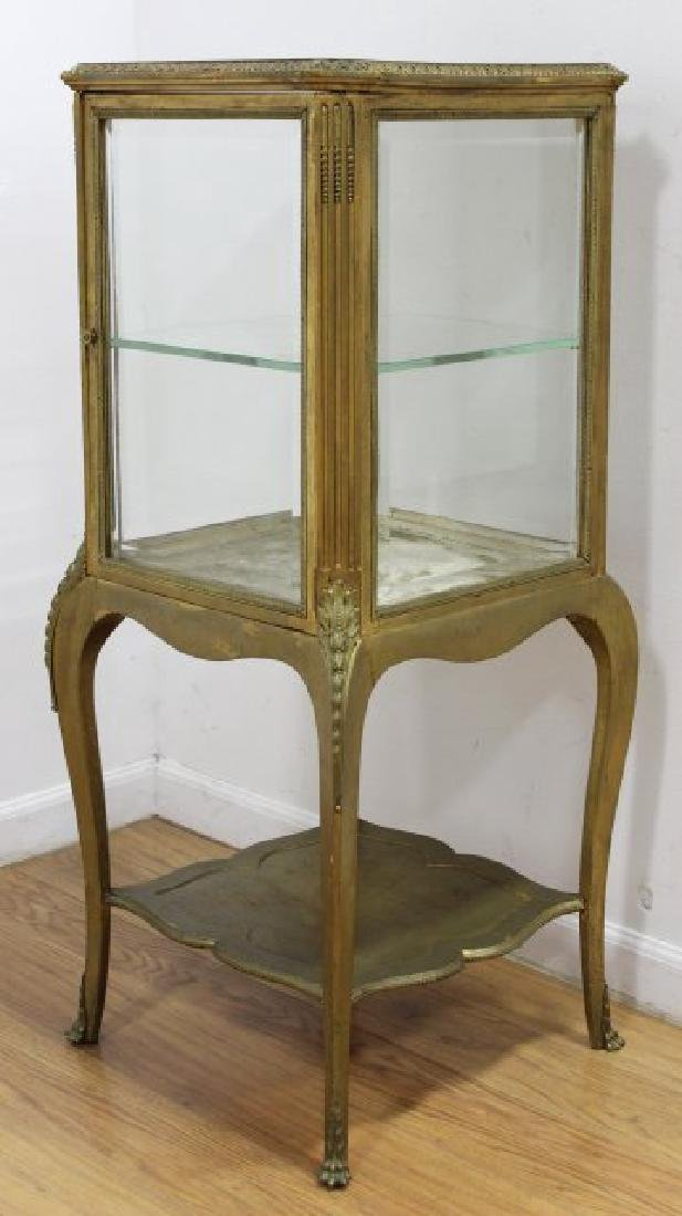Gilt Painted Louis XV Style Curio