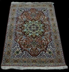PERSIAN TABRIZ WOOL RUG