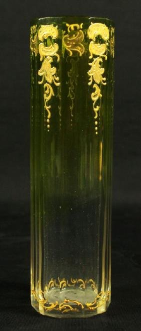 MOSER DECORATED VASE