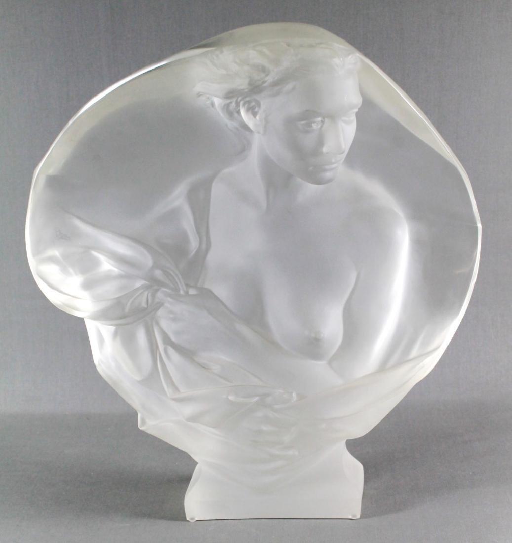 FREDERICK HART Acrylic Sculpture Contemplation